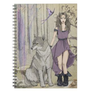 Elven Druid Notebooks