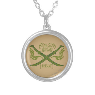 Elven Guards of Mirkwood Movie Icon Silver Plated Necklace