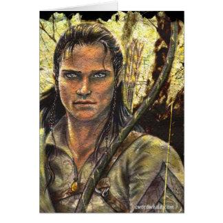 Elven ranger card