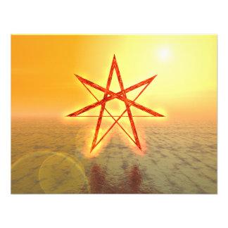Elven Star 01 Personalized Invitation