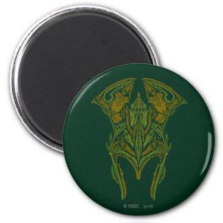 Elven Weapons Helmet Icon Magnet