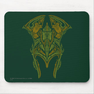 Elven Weapons Helmet Icon Mouse Mat