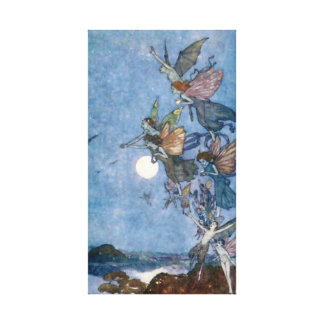 Elves and Fairies from The Tempest Canvas Print