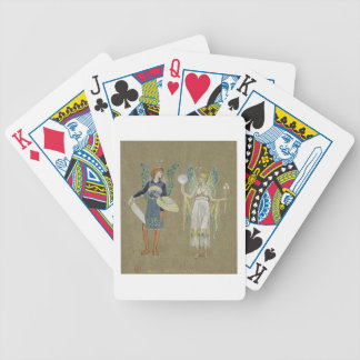 Elves and Fairy Painters, from 'The Snowman' 1899 Bicycle Playing Cards