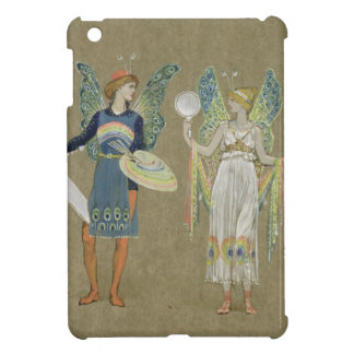 Elves and Fairy Painters, from 'The Snowman' 1899 iPad Mini Cover