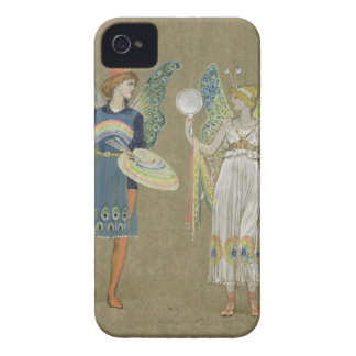 Elves and Fairy Painters, from 'The Snowman' 1899 iPhone 4 Cases