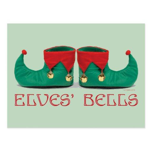 Elves' Bells Post Card