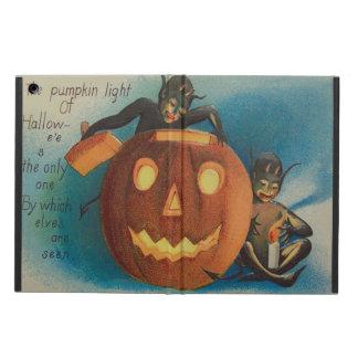 Elves Goblins Candle Jack O' Lantern Pumpkin iPad Air Cover