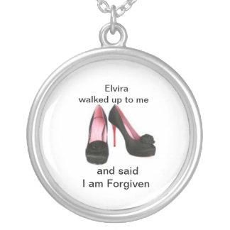 Elvira's Heels, Help me spread the good news Round Pendant Necklace