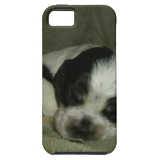 ELVIS , Blue roan &tan american cocker spaniel pup iPhone 5 Case
