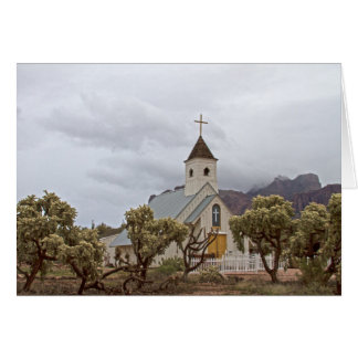 Elvis church at the Superstition mountains Greeting Card