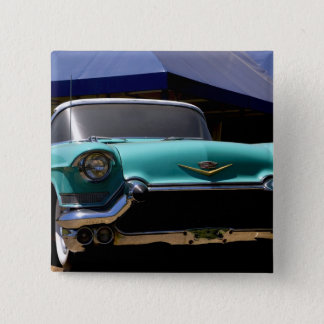 Elvis Presley's Green Cadillac Convertible in 15 Cm Square Badge