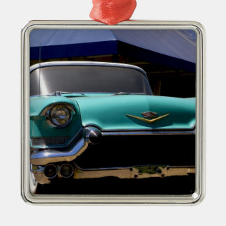 Elvis Presley's Green Cadillac Convertible in Christmas Ornament