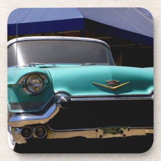Elvis Presley's Green Cadillac Convertible in Coaster