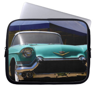 Elvis Presley's Green Cadillac Convertible in Laptop Sleeve