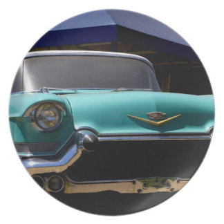 Elvis Presley's Green Cadillac Convertible in Plate