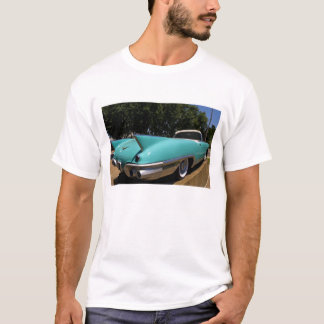 Elvis Presley's Green Cadillac Convertible in T-Shirt