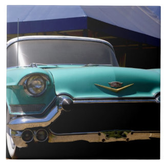 Elvis Presley's Green Cadillac Convertible in Tile
