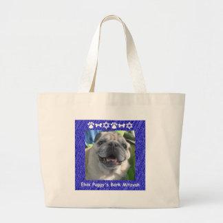 Elvis Puggy Jumbo Tote Bag
