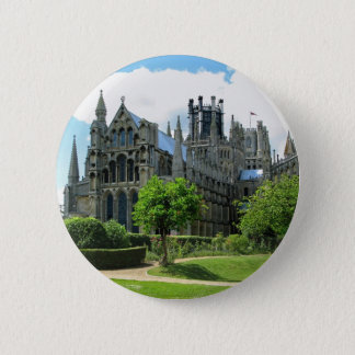 Ely Cathedral 6 Cm Round Badge