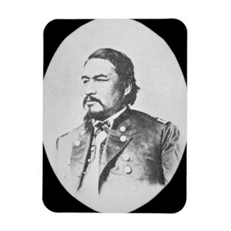Ely Samuel Parker (1828-95) Seneca Chief and Feder Rectangular Photo Magnet