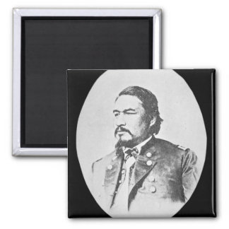 Ely Samuel Parker (1828-95) Seneca Chief and Feder Square Magnet