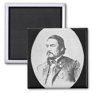 Ely Samuel Parker (1828-95) Seneca Chief and Feder Square Magnet
