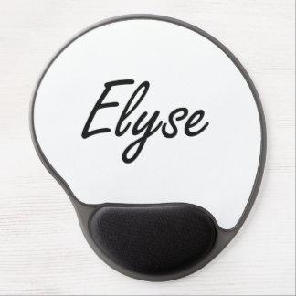 Elyse artistic Name Design Gel Mouse Pad