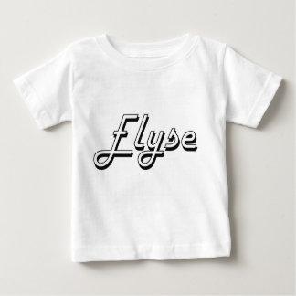 Elyse Classic Retro Name Design Shirts