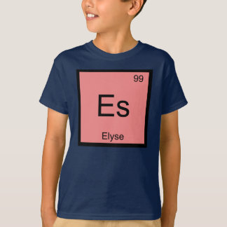Elyse Name Chemistry Element Periodic Table Tee Shirt