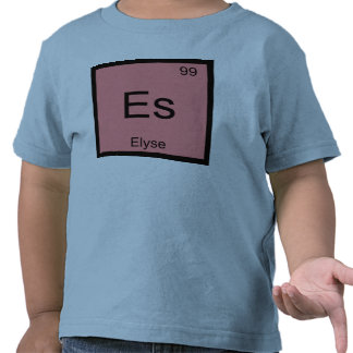 Elyse Name Chemistry Element Periodic Table Tee Shirts