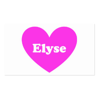 Elyse Pack Of Standard Business Cards