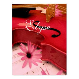 Elyse Postcard