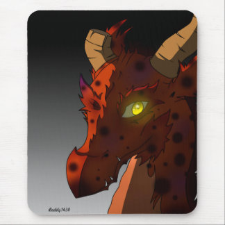 Elysian the Dragon Mouse Pad