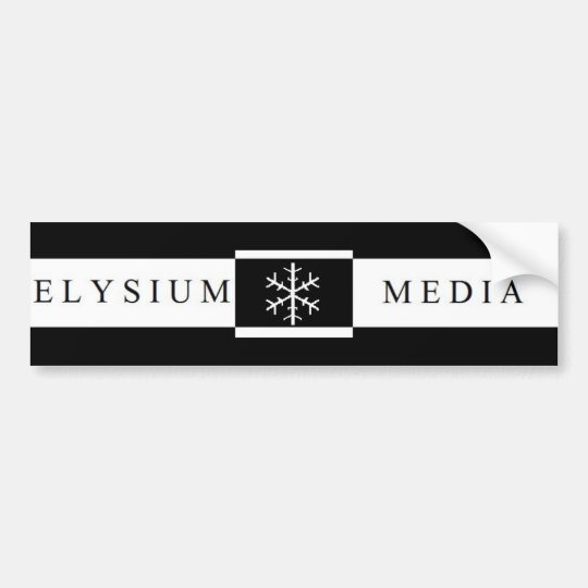Elysium Media Bumper Sticker