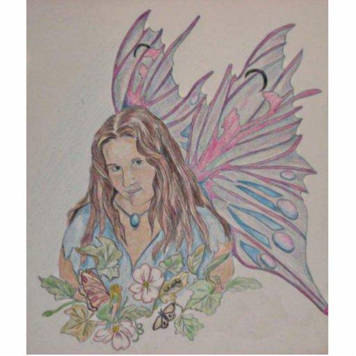 Em A Fairy Acrylic Cut Out