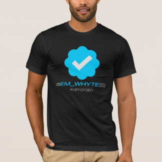 @Em_Whyte55 - Verified - Black T-Shirt