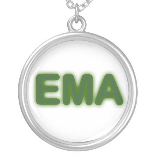 EMA Green Neon Necklace