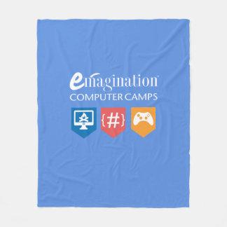 Emagination Computer Camps Fleece Blanket