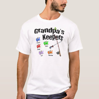 Email me for Grandpa's Keepers T-Shirt