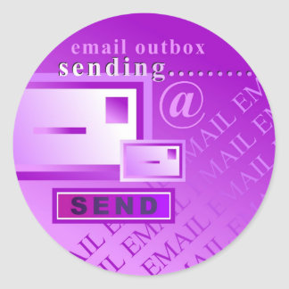 Email Outbox Sticker