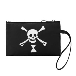 Emanuel Wynne Jolly Roger and Hourglass Coin Purses