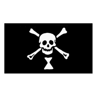 Emanuel Wynne Pirate Flag Pack Of Standard Business Cards