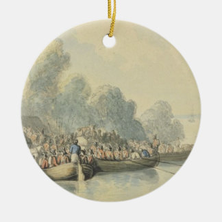 Embarkation at Southampton on 20th June after Lord Christmas Ornament
