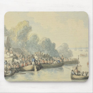 Embarkation at Southampton on 20th June after Lord Mouse Pad
