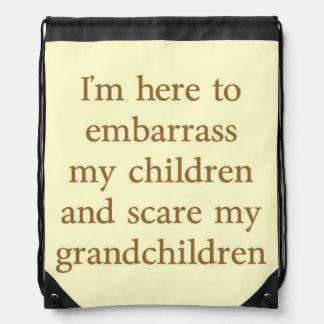 EMBARRASS THE CHILDREN RUCKSACKS