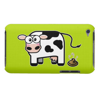 Embarrassed Pooping Cow iPod Touch Case-Mate Case