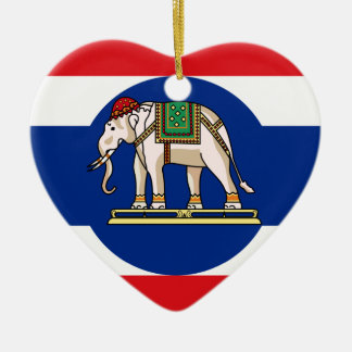 Embassador Thailand, Thailand flag Christmas Ornament