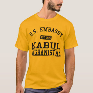Embassy Kabul Afghanistan - 1935 T-Shirt