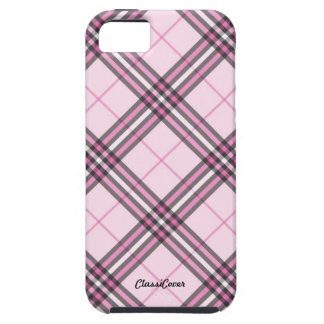 Embassy Plaid Pink Case Mate iPhone 5 Covers